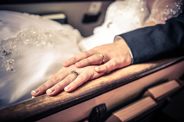 ruce, svatba, prsteny