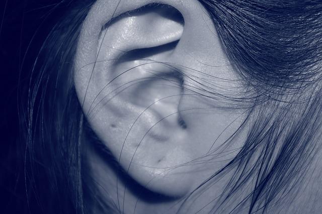 dírky v uchu