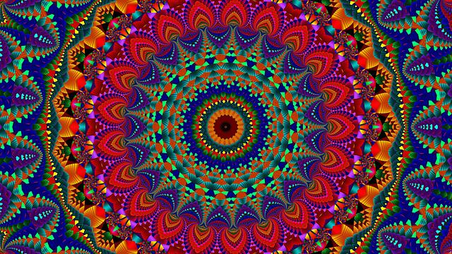 barevná mandala