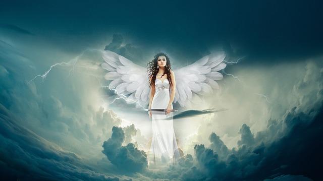 krásný anděl