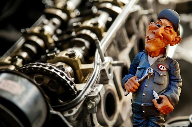 figurka automechanika