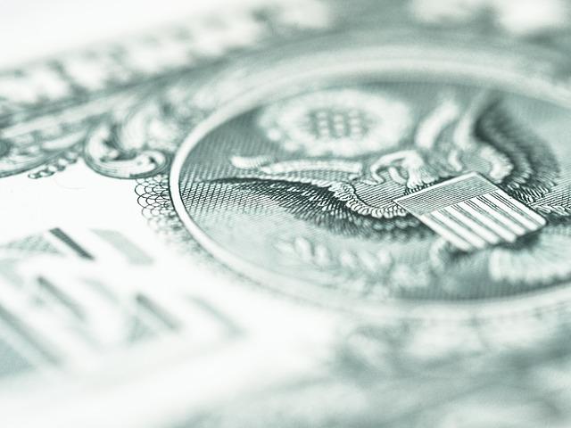 výřez dolaru